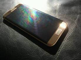 Mint s7 edge 32gb GOLD