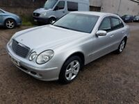 2003 mercedes e class,full year mot....price£ 1499 ono px/exch