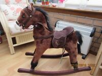 Small Rocking Horse With Sound Used suit 18 months to 3+