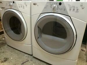 3- WHIRLPOOL Duet Sport Laveuse Secheuse Frontale Washer Dryer