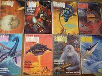 Analog science fiction magazines 1950's, 1960's, 1970's - Free