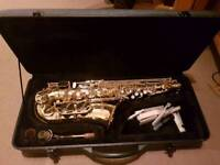 Stagg saxaphone and case