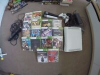 Xbox 360, Kinect, 2 Controllers, 'Lips' Microphones, 16 Games + More!