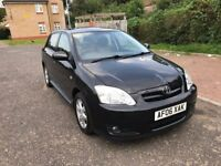 2006 Toyota Corolla 1.6 VVT-i Colour Collection 5dr Automatic @07445775115