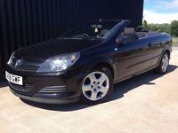 2008 (58) Vauxhall Astra 1.6 i TwinAir Air Twin Top 2dr 2 Keys 1 Previous Owner Finance Available