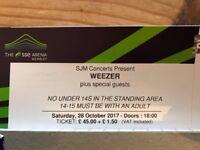 Weezer Tickets - London 28th October 2017 - SSE Wembley Arena