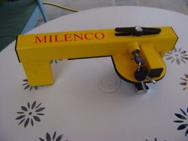 MILENCO COMPACT PLUS WHEEL CLAMP FOR BAILEY, PAGASUS & OLYMPUS NEW IN CASE
