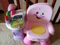 Fisher Price learning chair