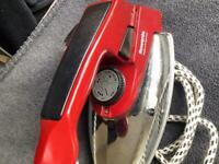 Vintage Rowenta iron LA-21 traveller
