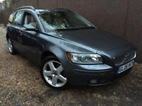 2006 Volvo V50 2.0D SE Full Service History Navigation Cream Leather T-Belt/Clutch/Flywheel Changed