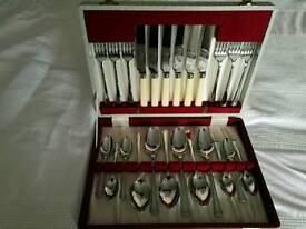 Vintage Cutlery Canteen