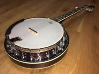 Ashbury 5 string banjo