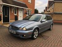 Jaguar x-type Diesel, estate, Automatic 101000miles