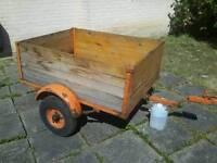 Car trailer 4x3