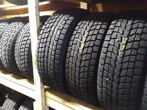 245/60R/18 DUNLOP GRAND TREK SJ6 WINTER SNOW TIRES ** $300 FULL SET OF FOUR **  245/60R18  ** 245/60/18 ** MINT