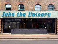 Head Chef @ John the Unicorn - salary £30-£34 depending on experience