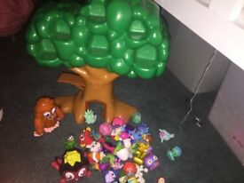 Moshi monsters and Moshi treehouse