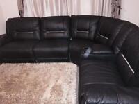 Harveys leather sofa