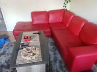 "Corner sofa 220cm on 250cm "" Milano ""artificial leather"