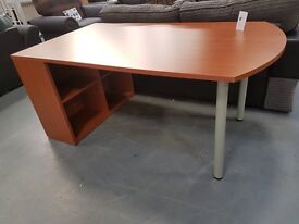 Brand New Heavy Duty Cherry Desk. Brilliant Sturdy Desk For Only £49. Already Built & Can Deliver
