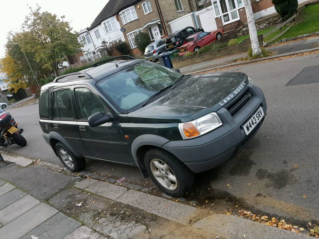 Quick sale very cheap 2000 Land rover freelander low milage 1.8 manual