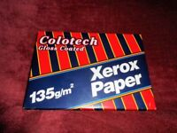 Xerox Colotech Gloss Coated printer / laser Paper A4 135gsm White Ream 3R93146