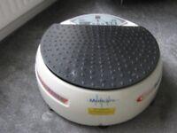 vibration massage plate