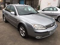 Ford Mondeo Zetec TDCi 2.0 DIESEL, 06/06 Reg, MOT 4th May, Service History, 4 Dr Sal, Machine Silver