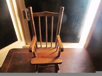 Little handmade Rocking chair