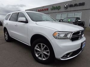 2015 Dodge Durango Limited-Heated Seats & Wheel--High River Albe