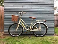 Vintage VIKING ladies bicycle with basket 🧺 and lock 🔐