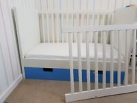 Cot bed for sale - ikea