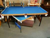 Pool tables from £5