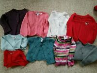 Girls size 2 years jumpers and hoodies