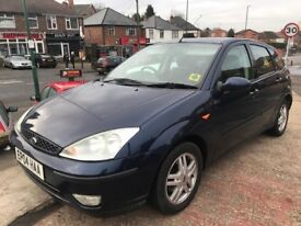 FORD FOCUS GHIA 2004/04 JUST IN AS PX