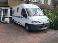 Campervan for spares or repairs, Fiat Ducato coach built interior, no MOT £1000 open to offers
