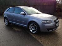 2008 Audi A3 1.6 Se 3 Door* Full Service History*Great Condition*Sat Nav*Parking Sensors*