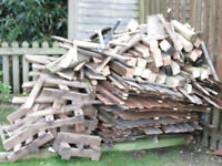 free wood to take from wooden fence