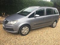 2006 Vauxhall Zafira - 7 seater people carrier - low mileage - £1350