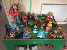 Toy Bundle & Train Table