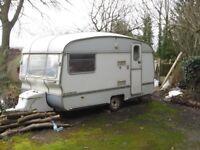 2 berth caravan wanted - must be damp free clean and cheap - no traders