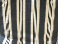 IKEA EKTORP SOFA COVER NAVY AND WHITE STRIP