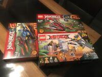 Lego ninjago -brand new sets