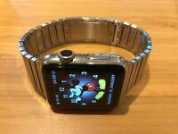 Apple Watch 42mm Stainless Steel Case Silver Link Bracelet
