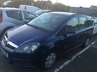 2006/56 Vauxhall Zafira 1.6 full mot only £795