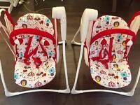 Graco baby chair swing - like new