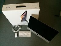 """Apple iMac Late 2013 21.5"""" 8gb ram 1tb HDD Boxed - Like new with mouse + keyboard"""