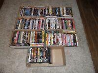 200+ DVD's various Genres