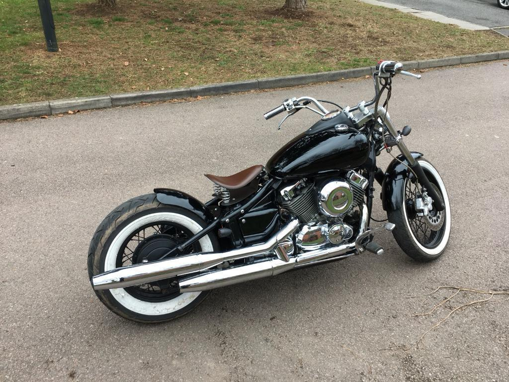 yamaha 650 dragstar bobber in coventry west midlands. Black Bedroom Furniture Sets. Home Design Ideas