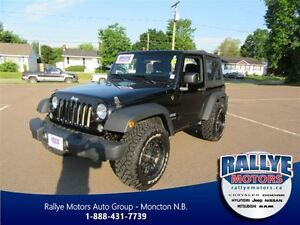 2014 Jeep Wrangler Sport! 4X4! ONLY 39K! Trade-In! Save!